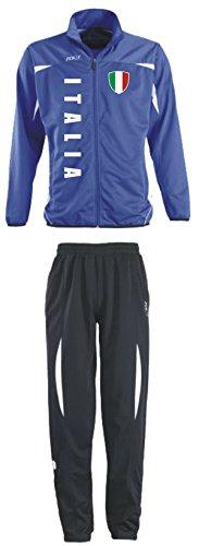 Aprom-Sports Italien Trainingsanzug - Sportanzug - S-XXL - Fußball Fitness (XXL)