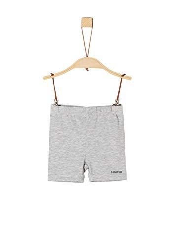 s.Oliver Baby-Jungen 59.906.75.5007 Shorts, Grau (Grey Melange 9400), (Herstellergröße: 80/REG)