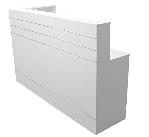 Neue Empfangstheke Empfangstresen, 180cm x 70 cm Rezeption Empfang Verkaufstheke Bürotheke...