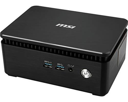 MSI Cubi 3 Silent S-026SICK OF - Dessert Officer Barebone (Intel Core i5-7200U, Intel HD Graphics, No Operating System) Negro