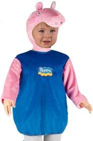 Costume George (fino ai 5 (Pig George Kostüm)