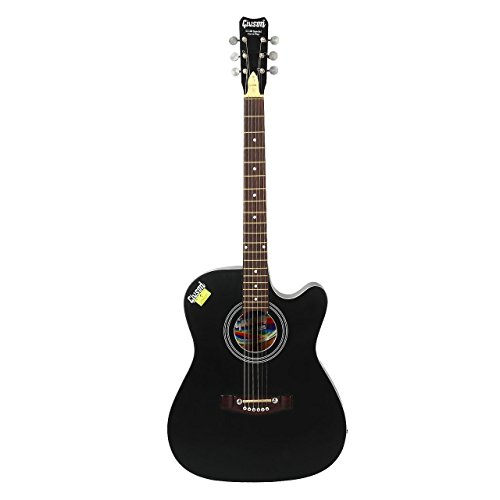 Givson G150 Special Cut, 6-Strings, Acoustic Guitar , Right-Handed, Black Matt, With Guitar Cover/Bag  available at amazon for Rs.5200