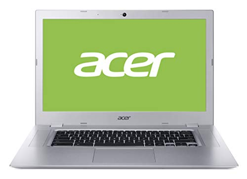 Acer Chromebook 315 (15,6 Zoll HD matt, Aluminium Unibody, 20mm flach, extrem lange Akkulaufzeit, schnelles WLAN, MicroSD Slot, Google Chrome OS) Silber