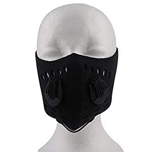ghfcffdghrdshdfh Breathable Activated Carbon Cycling Running Mask Mountain Bike Half Face Mask