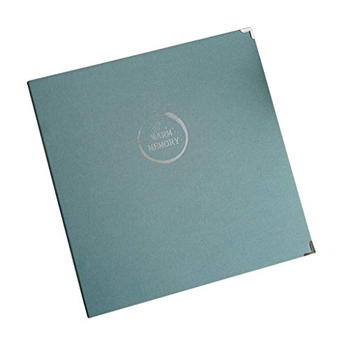 RCIN Fotoalbum Gemischtes Interstitial-Album mit großer Kapazität für 1136 Blatt, Hochzeitsalbum-Fotos, Tourismusliebe (Farbe: # 002, Größe: 35X34Cm)