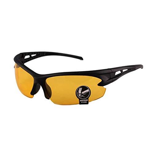 Simply Gorgeous Nachtfahrten Blend Vision HD Brille Prävention gelb Fahrer Sonnenbrille