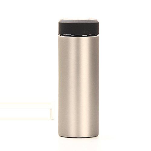 Shuling tazza termica portatile tazza di tè vaschetta di acciaio inossidabile 450ml studenti.