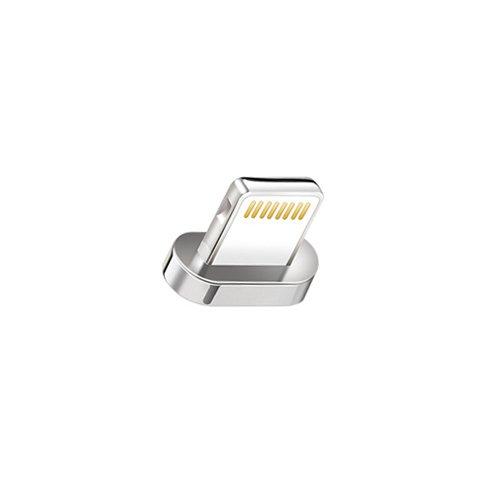 Apple Iphone Magnet ([i!®] 1x 8-Pin Adapter für Premium Nylon Magnet USB Ladekabel Datenkabel [1x 8-Pin Stecker] für Apple iPhone 10/X/8/8Plus/7/7Plus/6S/6SPlus/6/6Plus/5S/5C/5/SE iPad iPod)