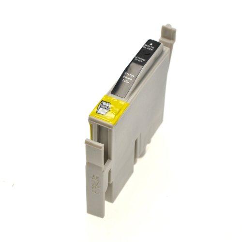 Tintenpatrone für Epson Stylus Photo 2200 BK Matt - Schwarz Matt, 17ml, kompatibel zu - Epson Stylus 2200 Drucker