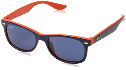 Ray-Ban Junior Unisex-Kinder 0RJ9052S 178/80 47 Sonnenbrille, Blue