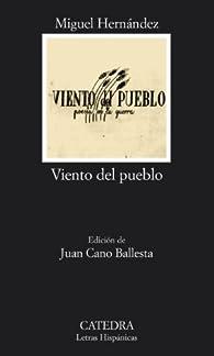 Viento del pueblo: poesía en la guerra par Miguel Hernández