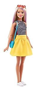 Barbie Fashionistas DMB30 muñeca - muñecas (Chica, Multicolor, Vestido para muñecas, Cepillo de muñecas, bisutería de muñecas, Doll sunglasses, Zapatos, Femenino, Ampolla)