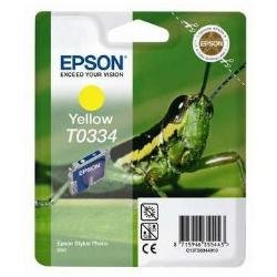 Epson T0334 Cartouche d'encre d'origine 1 x jaune 440 pages
