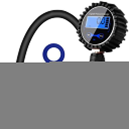 Digitaler Reifenfüller Druckmesser Luftkompressor Pumpe Schnellverbinder Kupplung für Auto LKW Motorrad