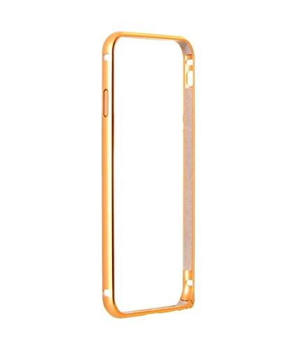 AryaMobi Golden Bumper for Samsung Galaxy S4 Mini - Metal Aluminium Bumper Cover Case