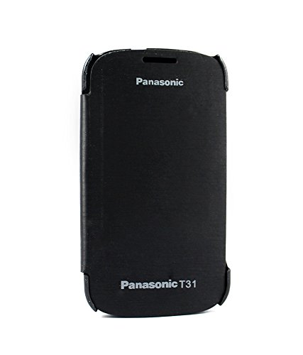 BRYNN Flip Cover For Panasonic T31 -black  available at amazon for Rs.149