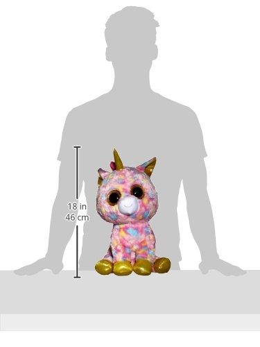 TY Plush–Beanie boo' S Wide–Fantasia Unicorn