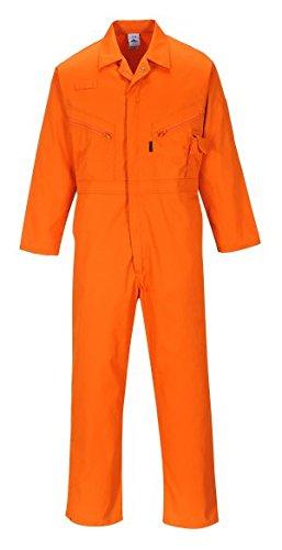 Portwest C813postali boiler Suit cartolina Orange XL