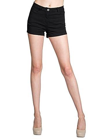 CASPAR HTP005 Short d'été pour femme - Mini short -