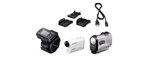 Top Sony FDR-X1000VR 4K Action Camera with Live-View Remote