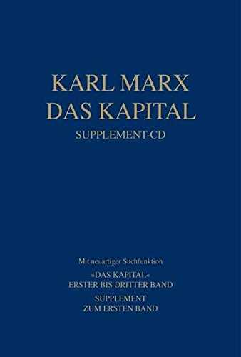 Das Kapital. Supplement-CD