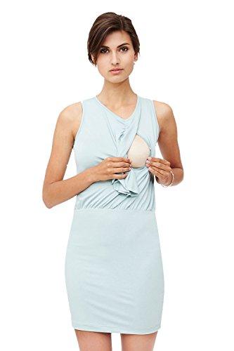 Milker - robe d'allaitement Zasha Bleu