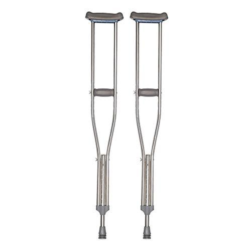 AIWO-LPT Faltender Spazierstock-Aluminiumlegierungs-ergonomischer weicher Griff leicht for Senioren/Frauen/Männer Krücke (Color : 2pcs, Size : Small) (Für Schaumstoff-griff Spazierstock)