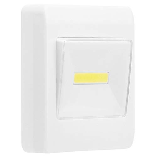 PoJu LED Night Light, COB Velcro/Interruttore luce / - Mini Fashion Magnet Antiurto Impermeabile
