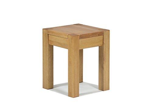 Naturholzmöbel Seidel Sitzhocker Blumenhocker,Rio Bonito, 35x35cm, Sitzhöhe 45cm, Pinie...