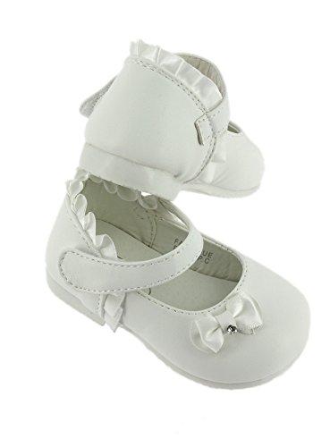 Chaussures bébé blanches parfaite pour baptême - Blanc - 18 - PRODUIT STOCKÉ ET EXPÉDIÉ RAPIDEMENT DEPUIS LA FRANCE