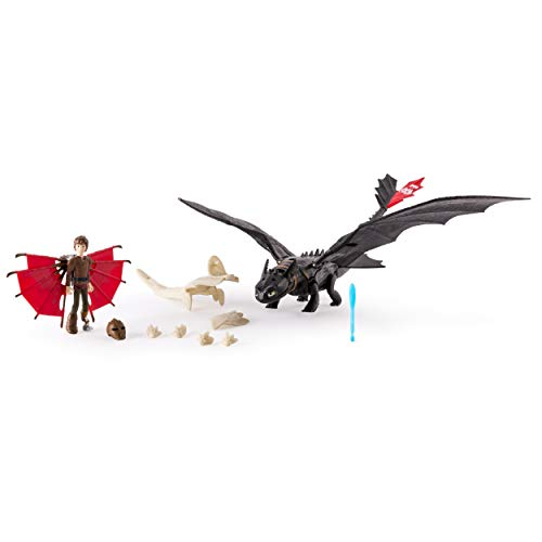 Spin Master 6035115 – Dreamworks Dragons – Armored Dragons – Senza denti & Hicks
