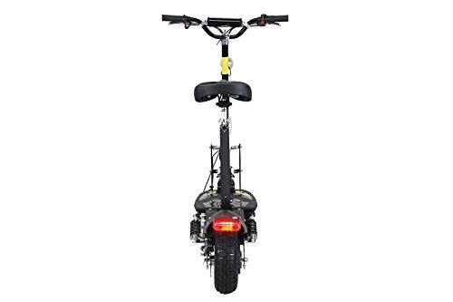 E-Scooter Roller Original E-Flux Freeride 1000 Watt 48 V mit Licht und Freilauf Elektroroller E-Roller in vielen Farben (schwarz) - 5