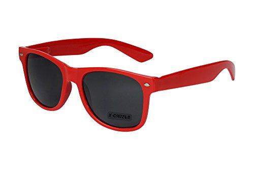 X-CRUZE® 8-008 - Gafas de sol nerd retro vintage unisex hombre c084894bb1ec