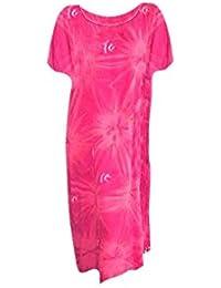 Cool Kaftans SALE New STAR Pink Red Cool Kaftan Long Summer Dress Cool Kaftans