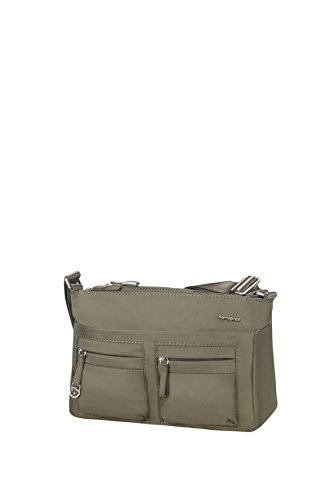 Samsonite Move 2.0 Horizon Shoulder Bag Plus Flap, Umhängetasche, 3.944 L, Silver grün (Bag Flap)