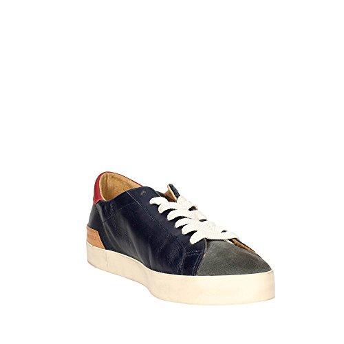 D.A.T.E. Hill LOW-44I Sneakers Uomo Blu