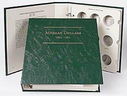 Littleton Morgan Silver Dollars 1892-1921 Album LCA9 by Littleton (1892 Dollar Morgan)