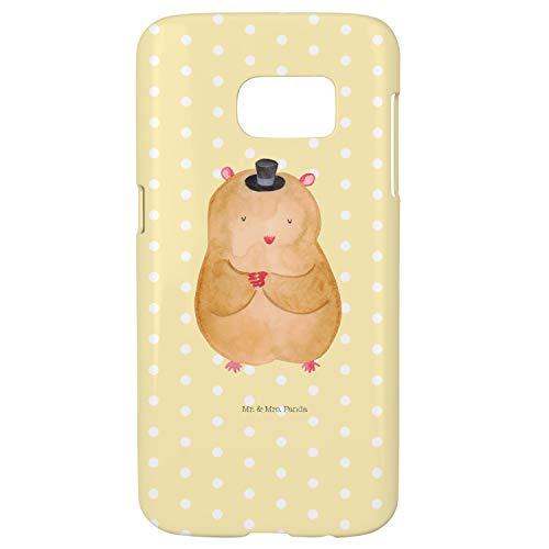 (Mr. & Mrs. Panda Samsung Galaxy S7 Handyhülle Hamster mit Hut - Hamster, Hut, Magier, Zylinder, Zwerghamster, Zauberer, Houdini Handycover, Handyhülle, Cover, Handy, Hülle, Samsung, Samsung Galaxy S7)