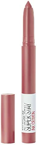 Maybelline New York Super Stay Crayon Lipstick, 15 Lead the way, 1.2g