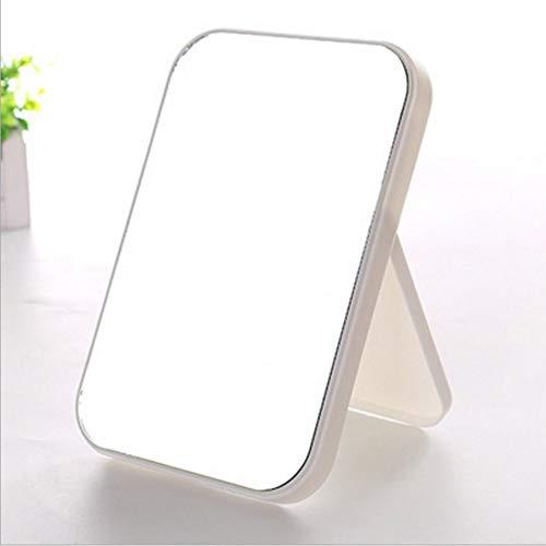 Gesichts-Schminkspiegel Desktop-Kosmetikspiegel Große Faltbare tragbare quadratische Spiegel