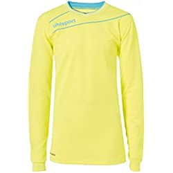 Uhlsport TRANSMISIÓN 3.0 Junior Portero Set - fluo amarillo/blue ice, M