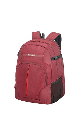 Samsonite - Rewind - Rucksack L Expandable, 34 L, 0,70 Kg, Granita Red