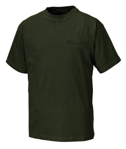 Pinewood Unisex T-Shirt 2-Pack, grün, XL