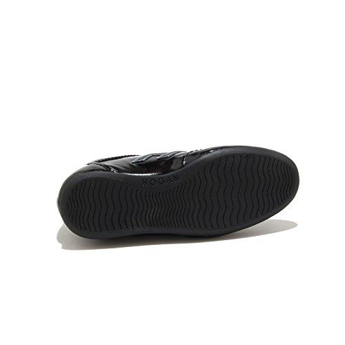 36719 sneaker HOGAN OLYMPIA scarpa bimba shoes kids nero Nero