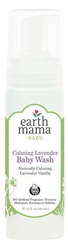 Earth Mama Angel Baby - Champú y gel de baño infantil con efecto calmante...