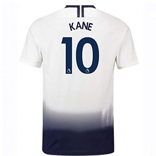 59a29655e 2018-2019 Tottenham Home Nike Football Soccer T-Shirt Camiseta (Harry Kane  10