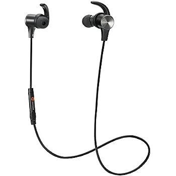 Bluetooth Earphones, TaoTronics Bluetooth 4.2: Amazon.co ...