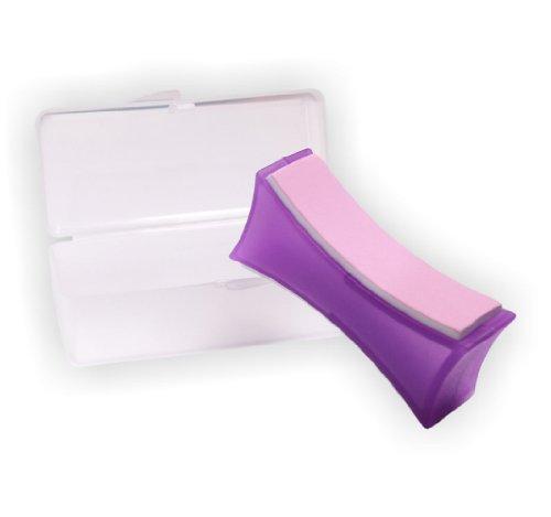 Supershiner Profi Nagel Polierblock 2-flächig für glänzend gepflegte Nägel inkl. Aufbewahrungs-Box