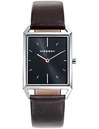 Viceroy Reloj Analogico para Hombre de Cuarzo con Correa en Cuero 471121-57