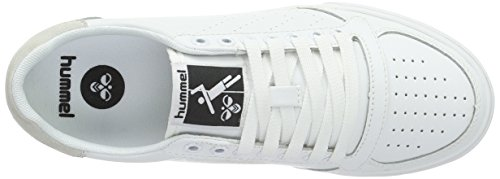 Hummel Slimmer Stadil Ace Sneaker, Scarpe da Ginnastica Basse Unisex – Adulto Bianco (White)